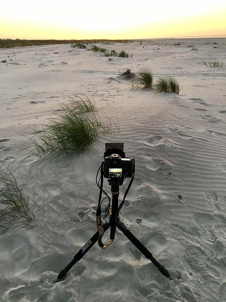 Beach sunrise photography tips from Fripp Island, South Carolina