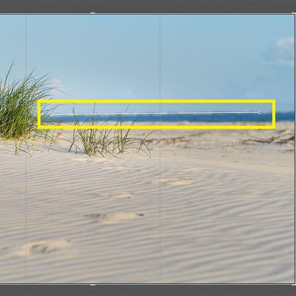 lightroom angle tool screenshot